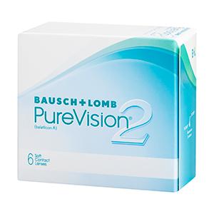 """®Purevision 2 - הינה עדשת סיליקון הידרוג'ל מתקדמת לשימוש ממושך, העדשה עושה שימוש בטכנולוגיות High Definition Opticss המפחיתה באופן ניכר את הבוהק ואת ההילה העלולים להיווצר בעת שימוש בעדשות מגע. העיצוב המתקדם של העדשה מאפשר נוחות הרכבה ושימוש גבוהים מהקיים בעדשות רגילות, ומעניקה בכך למרכיב אותה איכות ראייה ונוחות למשך כל היום ע""""י מעבר מוגבר של חמצן איכותי לעין בעת ההרכבה."""